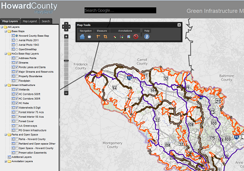 Howard County Md Zip Code Map.Howard County Maryland Data Download And Viewer