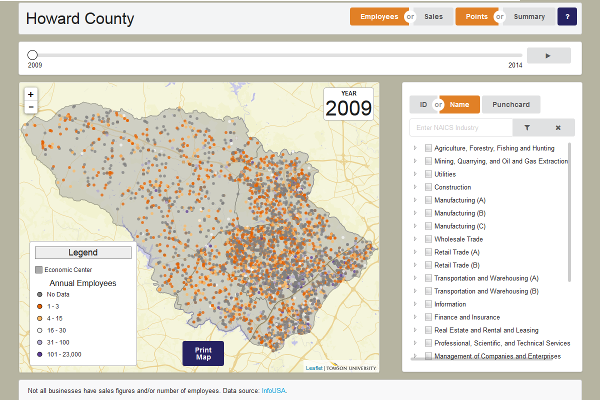 Howard County Maryland Data Download And Viewer - Map my walk online